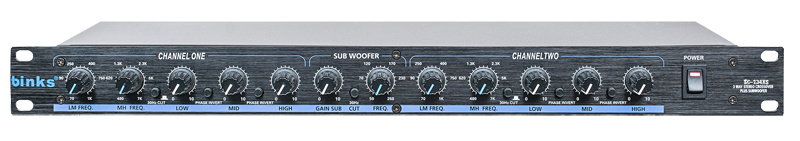 3 Way Crossover Professional Audio Processor Crossover