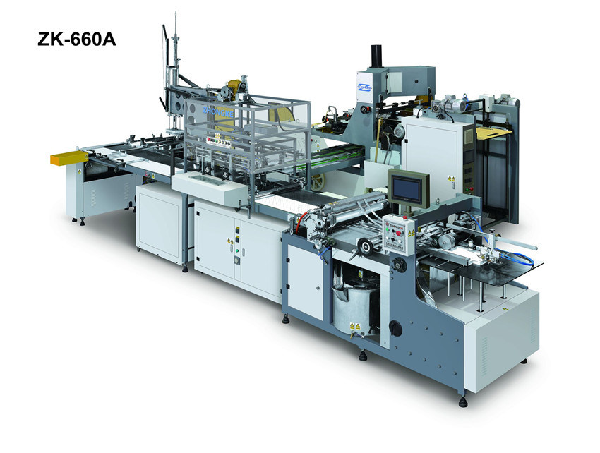 Paper Box Packing Machine (ZK-660A)