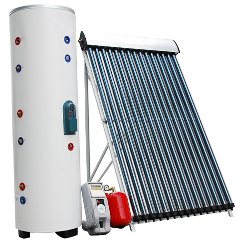 High Pressure Split Heatpipe Solar Collector