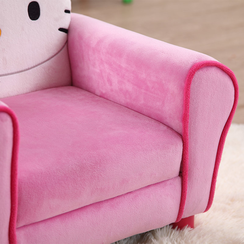Hello Kitty Fabric Kids Upholster Chair