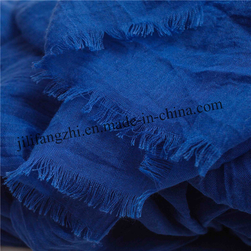 Polyester Lady Dyed Scarf Newest Fashion Women