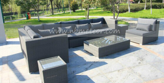 Outdoor Sectional Rattan Furniture Garden Sofa Set 8PCS (MTC-174)