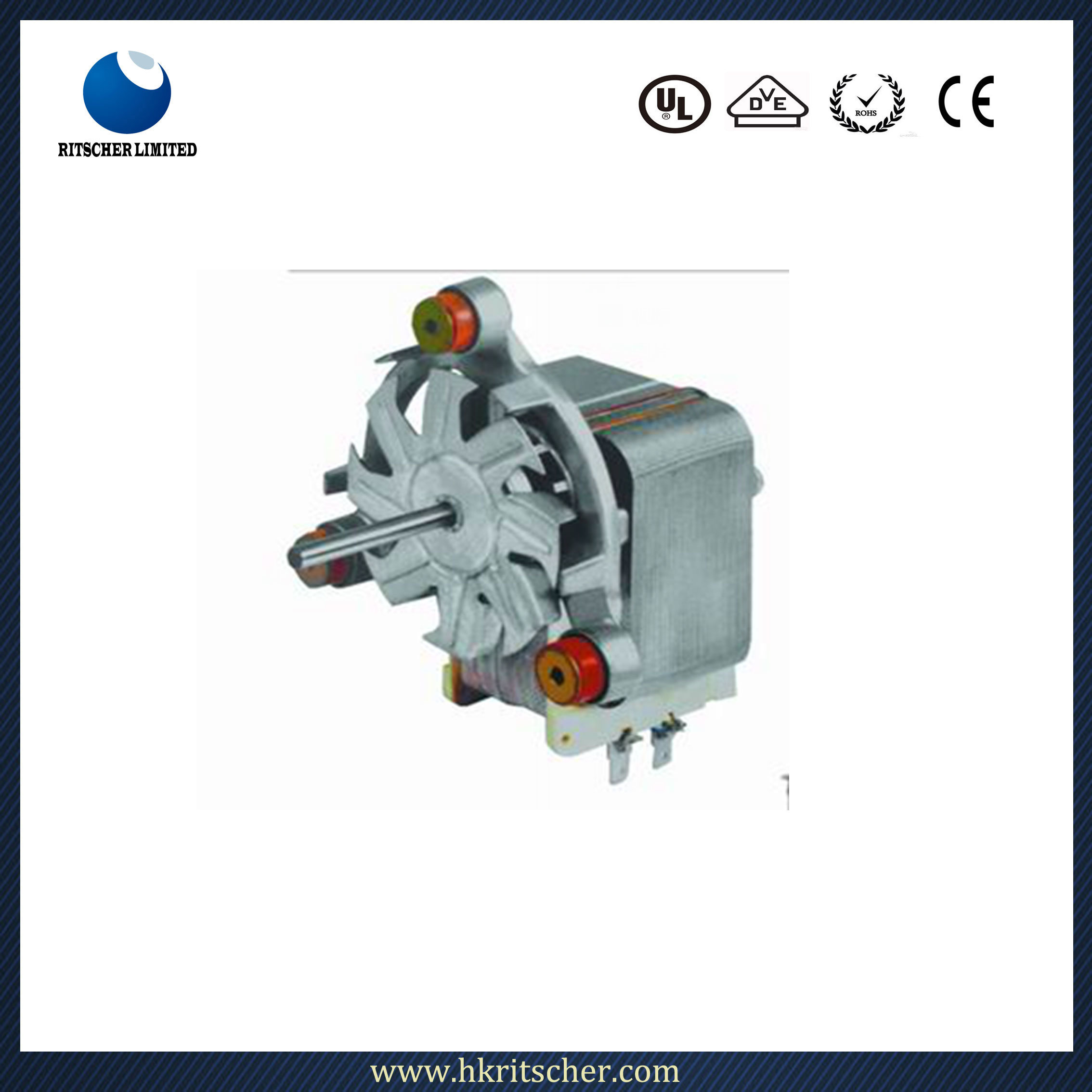 50Hz High Performance AC Gear Electric Motor for Home Appliances