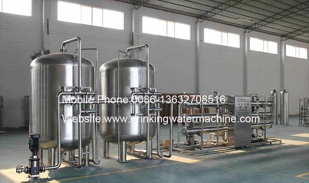 10 Tons RO Water Treatment Machine