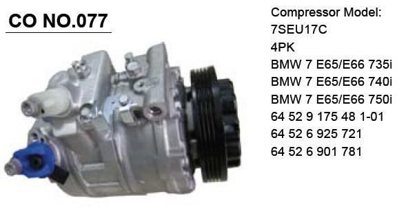 TM-31 Bus Compressor for Air Conditioner