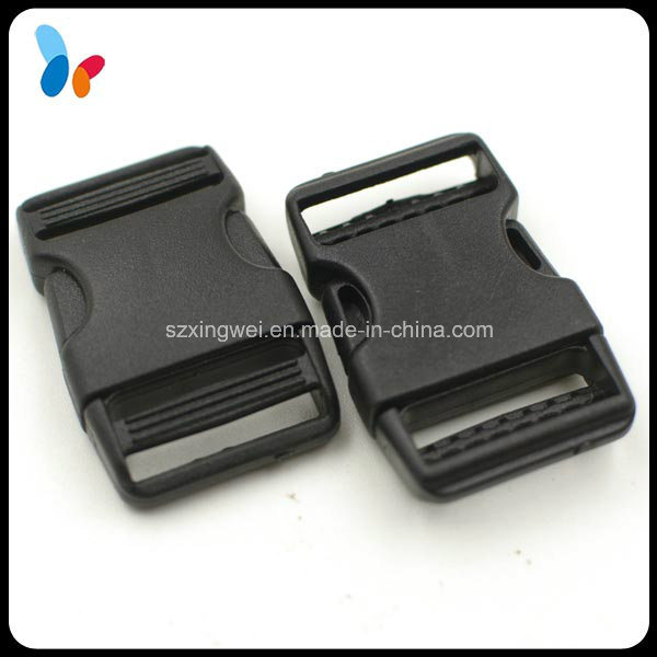 Small Black Quick Release Plastic Buckle for Baby Car