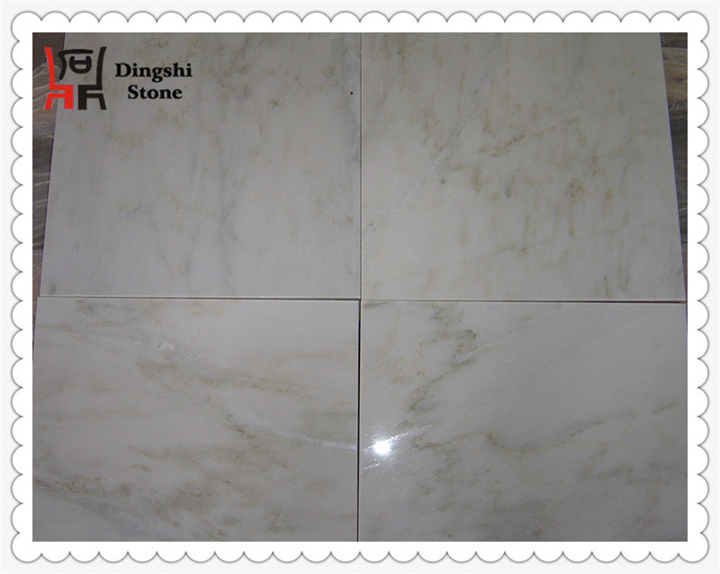 Oriental White Marble with Chinese Origin Stone Tile