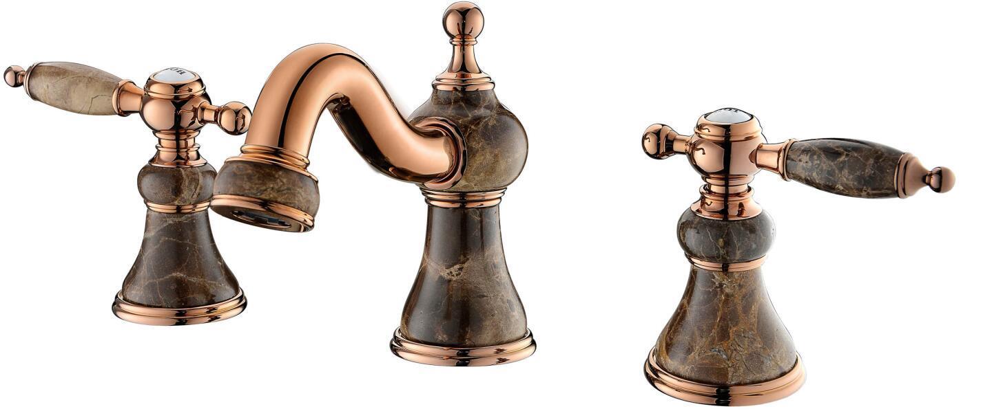 Gagal Sanitary Ware Three-Hole Basin Mixer Faucet