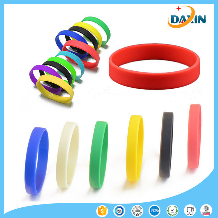 Multi-Color Eco Friendly Silicone Bracelet for Kids/Adult