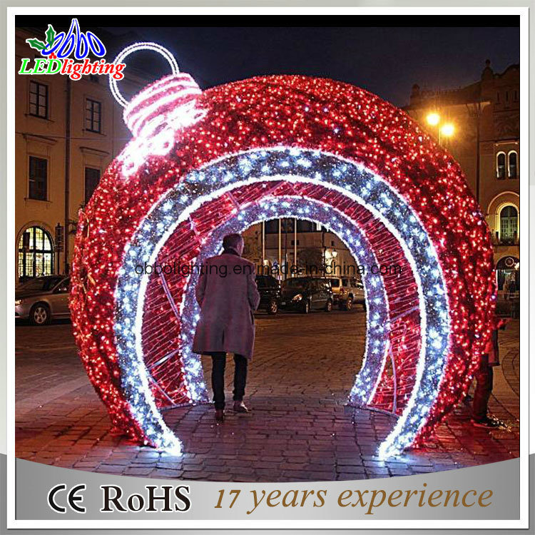 China Holiday Light LED Christmas Ball Light Large Outdoor ...