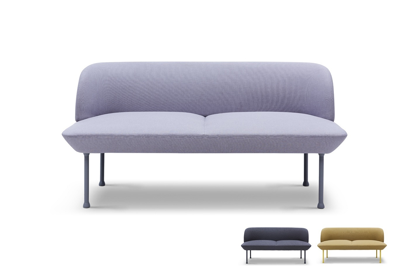 China Long Leg Chair Muuto Oslo Two Seater Sofa European Style - China  Fabric Sofa, Two Seater