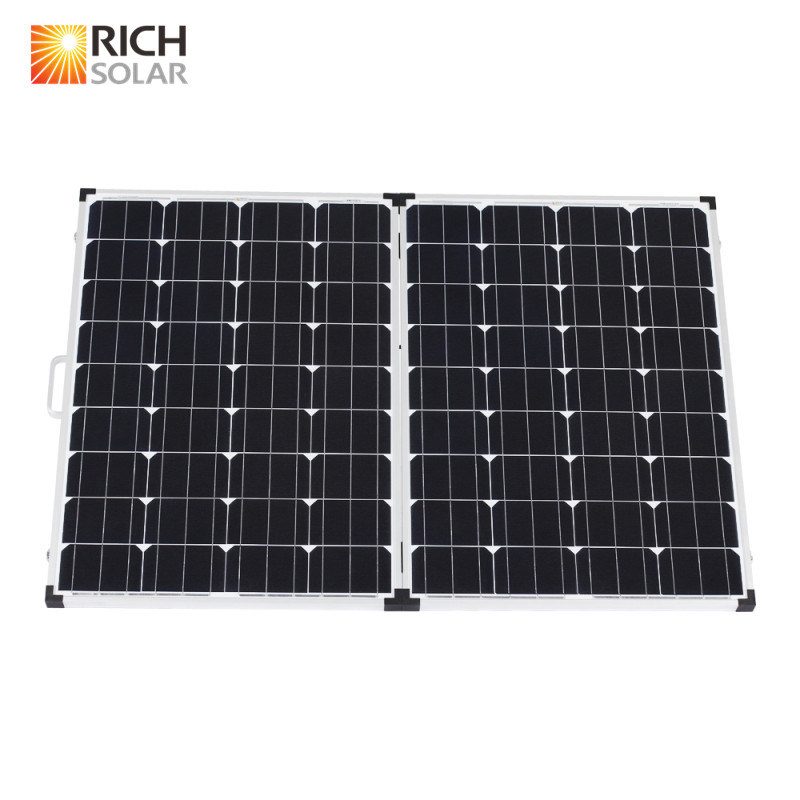 200W 12V Monocrystalline Folding Solar Panel Kit