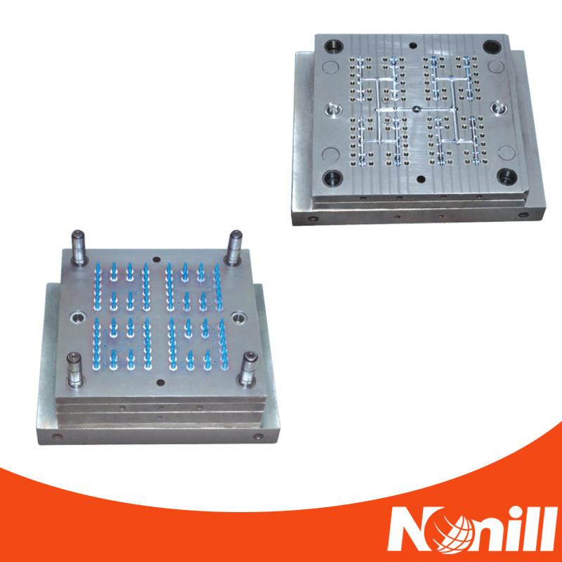 High Precision Hot Runner Needle Hub Mold