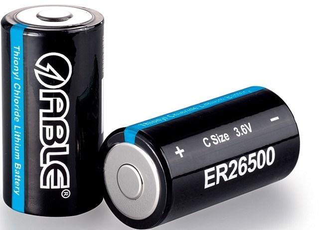 3.6V 9000mAh Er26500 Lithium Battery