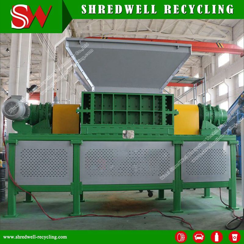 Shredwell Good Quality Waste Tire Shredder Machine Scrap Tyre/Wood/Metal/Solid Waste/Plastic