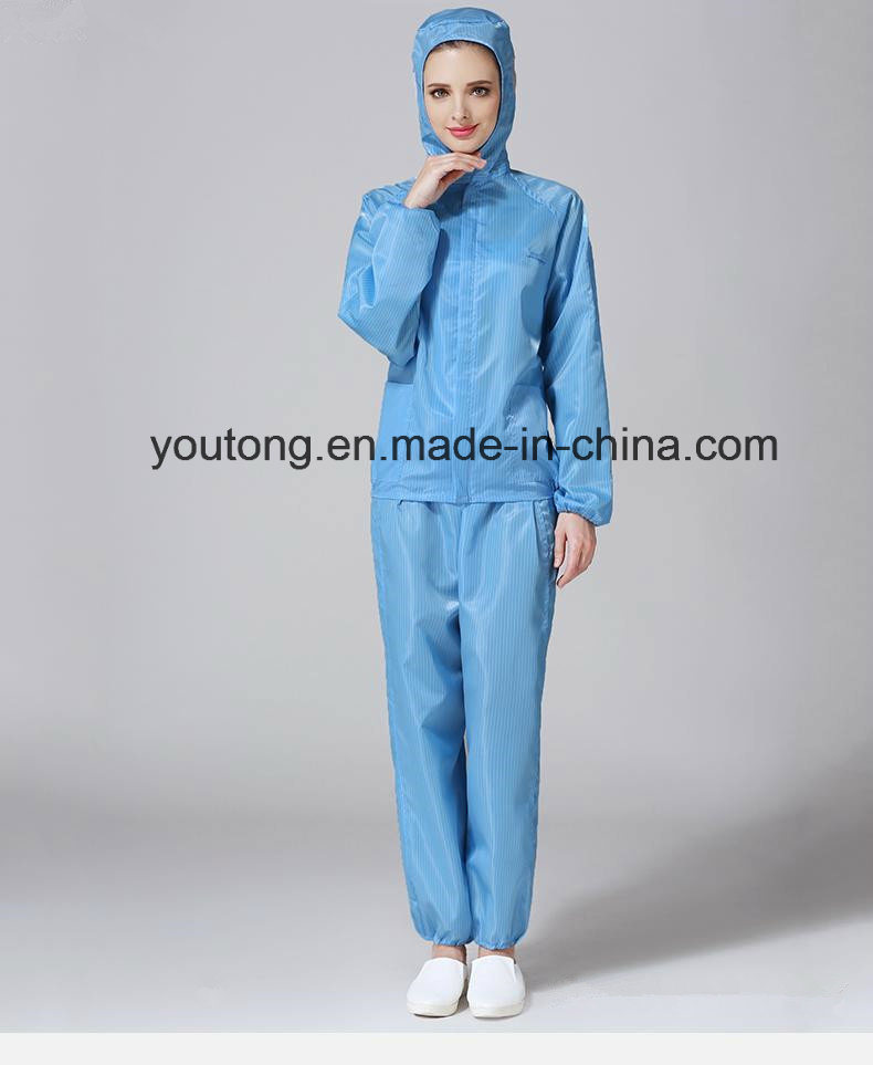 100%Polyester with Carbon ESD Antistatic Garments