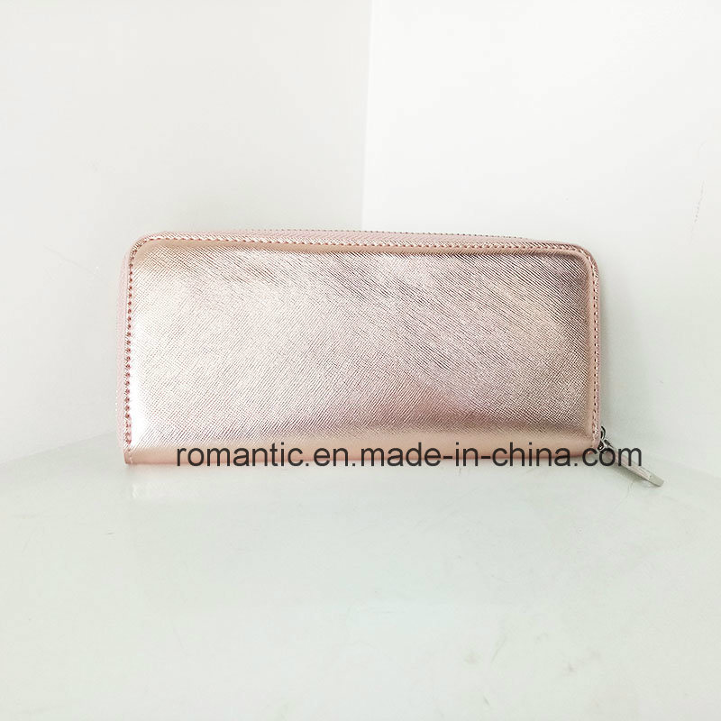 Guangzhou Supplier Women PU Wallet Lady Leather Purse (NMDK-041302)