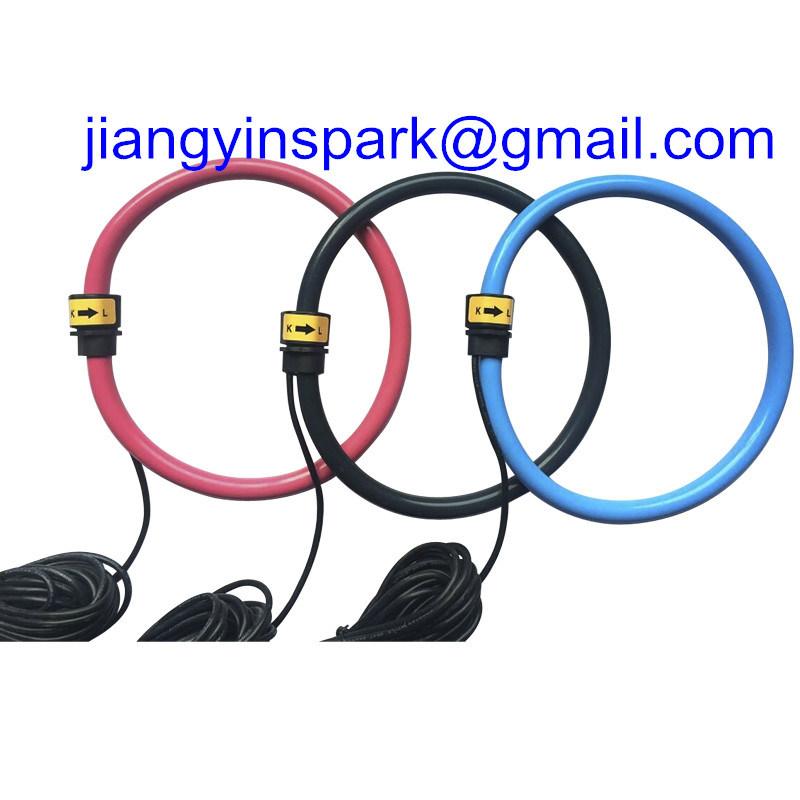 100A-100ka Three Phase Flexible Rogowski Coil 333mv