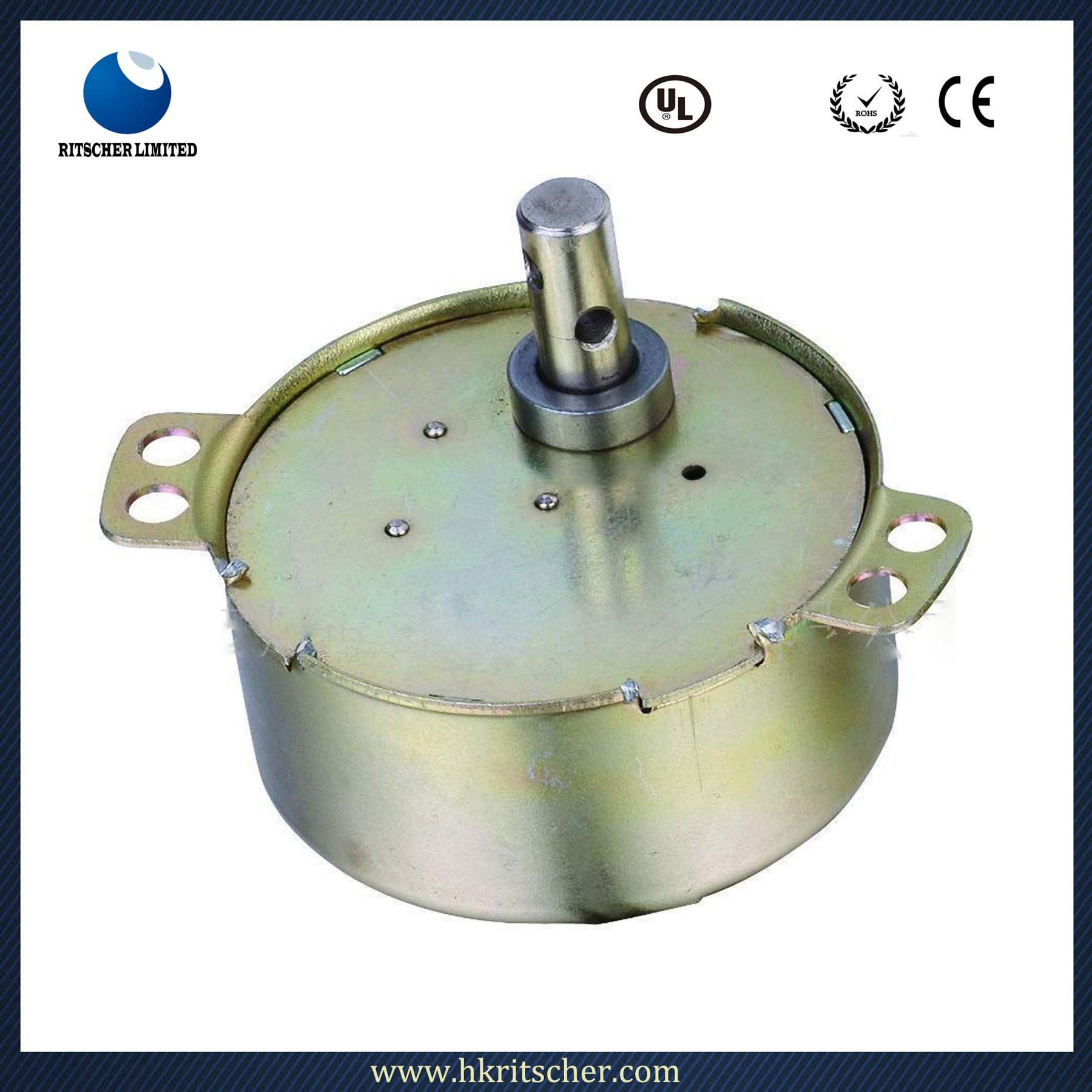 Longlife Metal Gear Synchronous Motor for Swing Fan/Valave