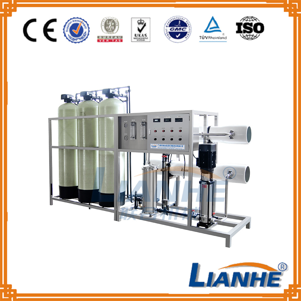 2000L RO Water Treatment System with GF Anti Corrosive Filters