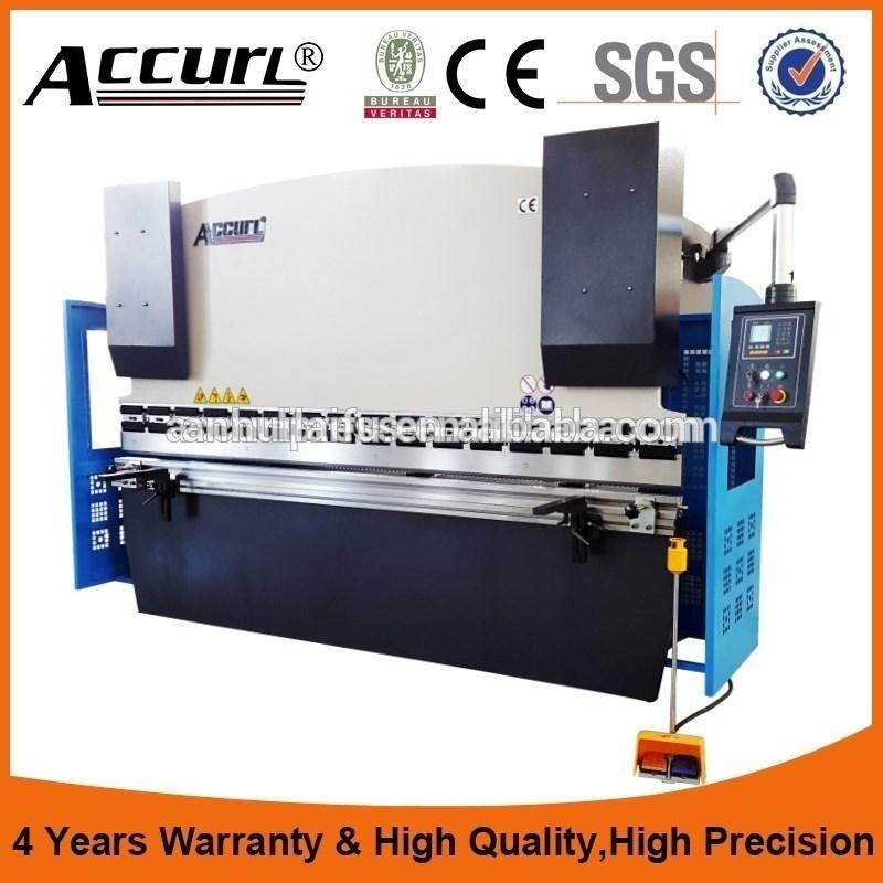 3 Axis CNC Press Brake 63t/2500 with Delem Da52s