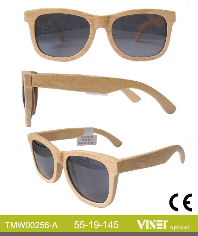 Custom Wooden and Bamboo Sunglasses (258-B)
