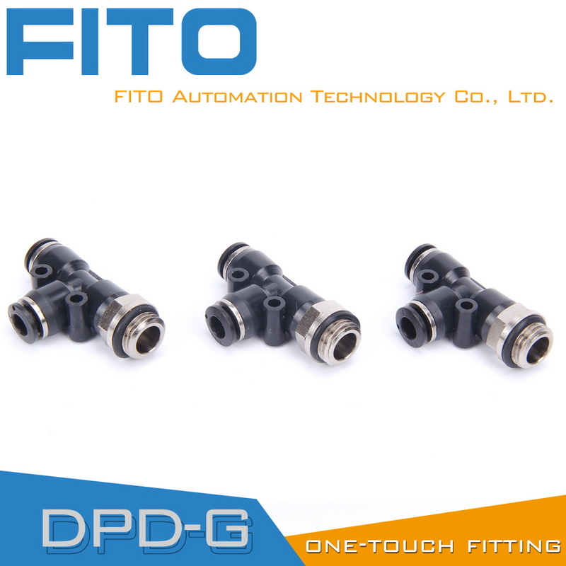 Pd Pneumatic G-Thread Coupler with O-Ring