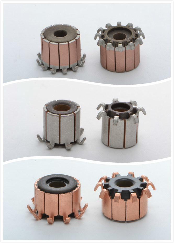 Cheap and Fine Commutator for Motorcycle Parts with Auto Parts (10 Hooks OD17.96mm)