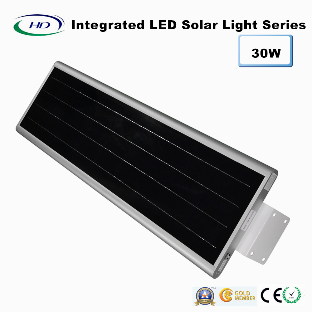 30W PIR Sensor Integrated LED Solar Garden Light