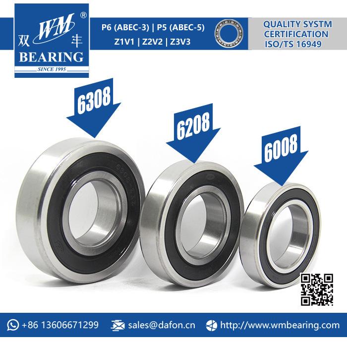 6308 C3 Racing Engine Motorcycle Deep Groove Ball Bearing