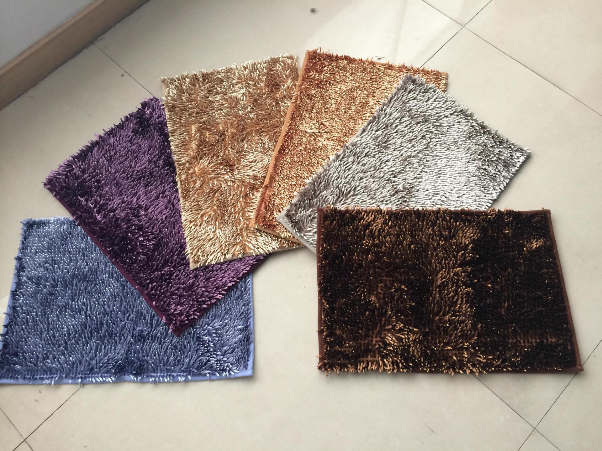 Chenille Bath Mat, Home Carpet, Ground Mat, Floor Rug