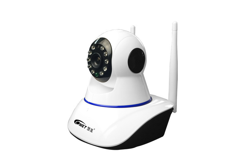 Dual antenna WiFi Wireless CCTV Security IP Camera with PT Remote View