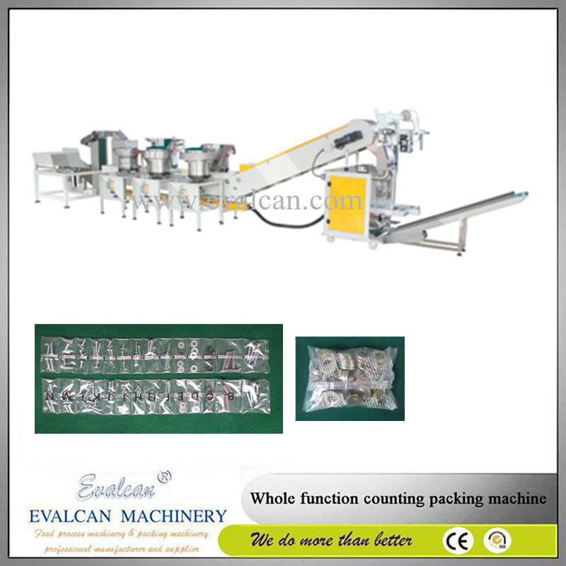 High Precision Automatic Rivet, Nail, Bolt Bulk Packing Machine