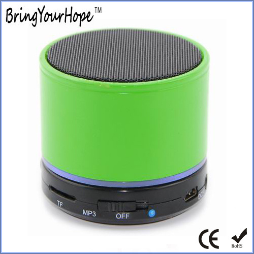 Stainless Steel Mini Wireless Bluetooth Speaker (XH-PS-602)
