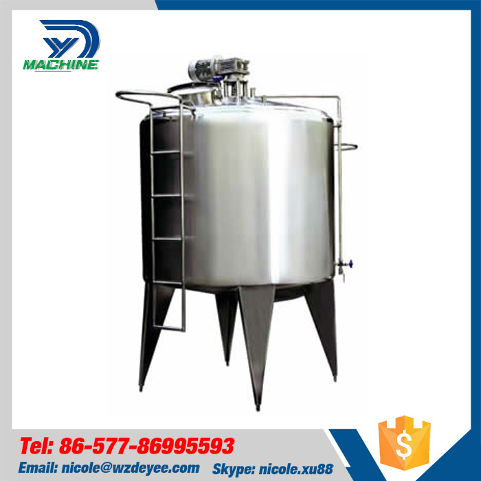Food Grade Ss304 Electric Heating Mixing Tank with Agitator