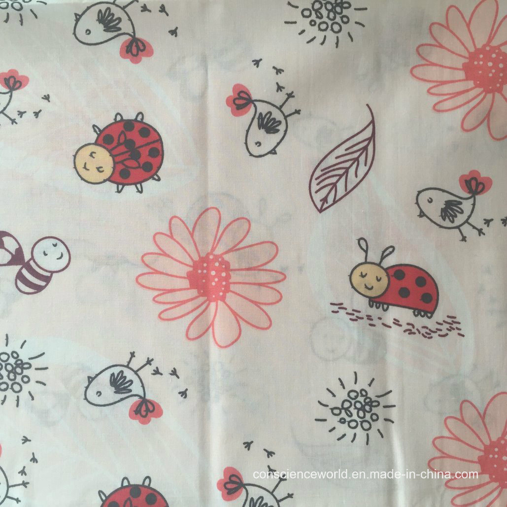 100%Cotton Printed Fabric for Home Textile 30*30 68*68