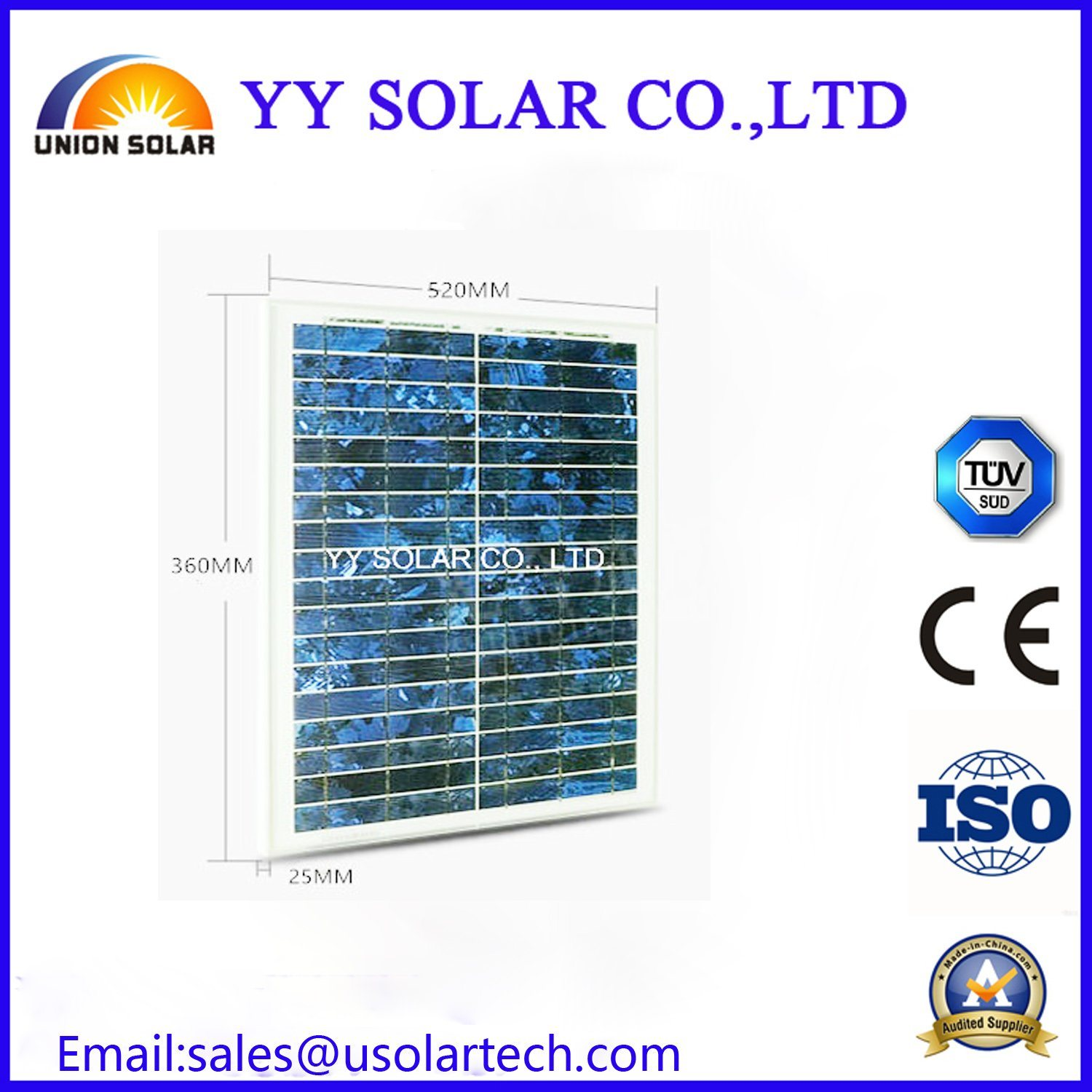 Good Price 20W Solar Panel for LED Light