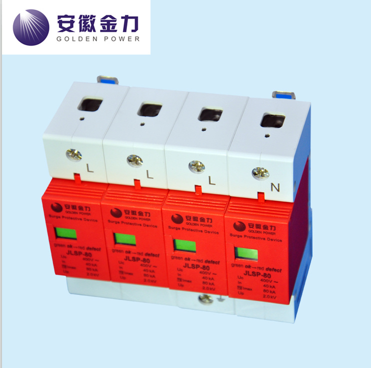 Surge Protective Device 20ka 230/400V, Jlsp-400-80, SPD, 80-003