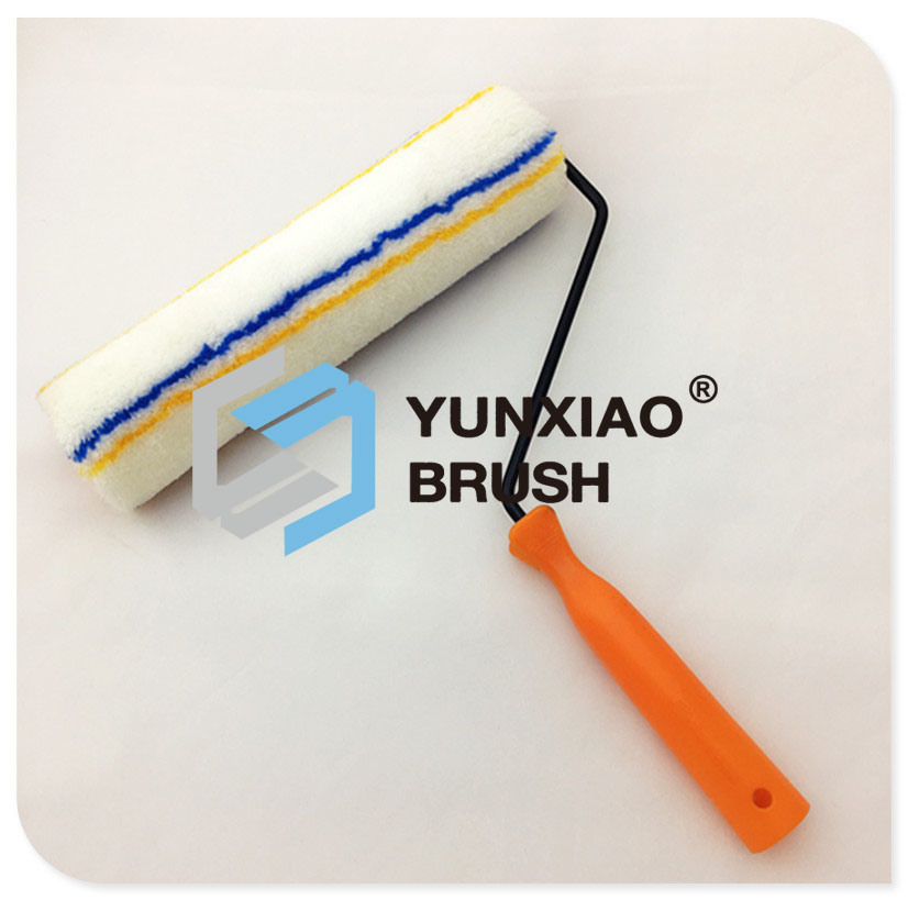 Thailand Black Plated Paint Roller with Polyester Cover