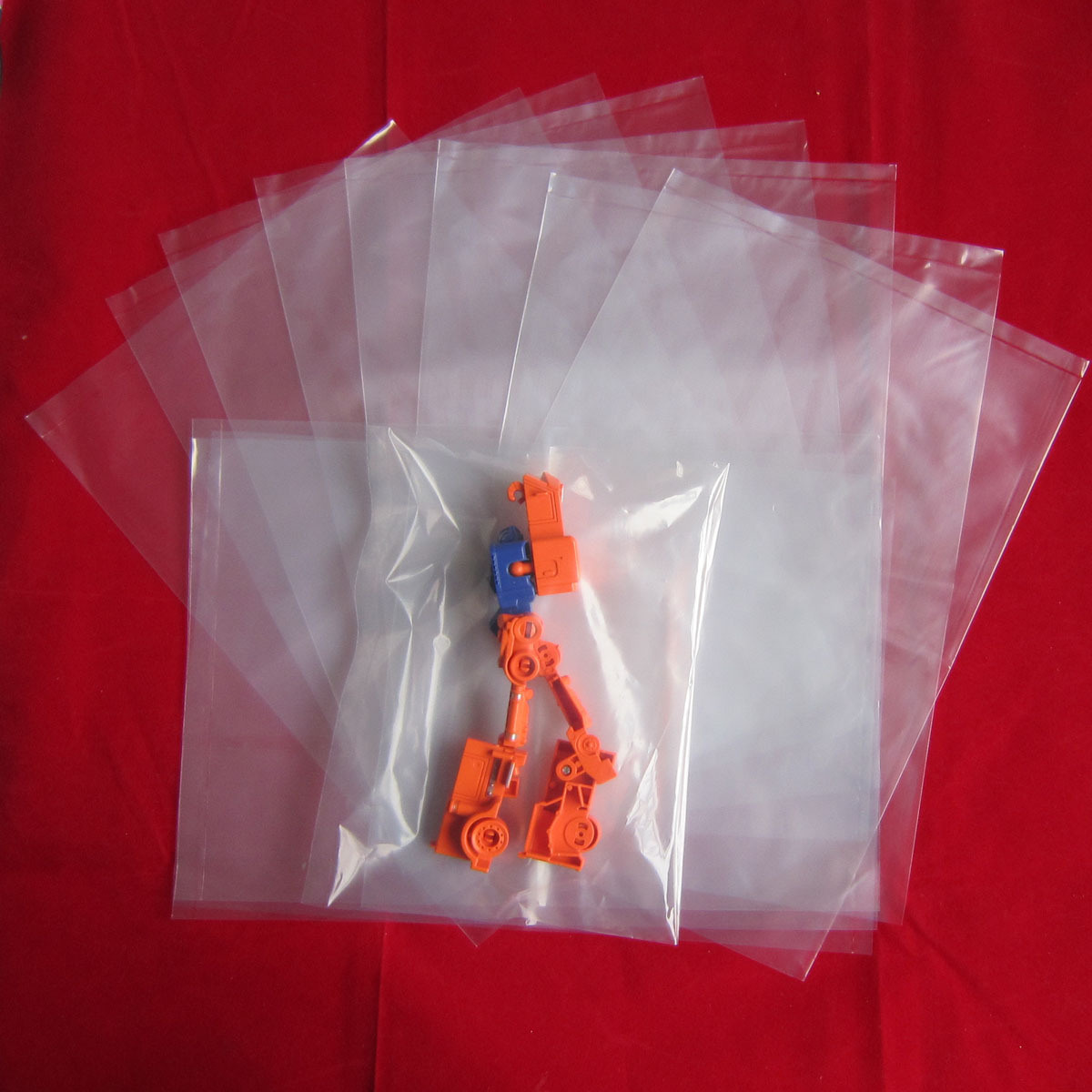 Hot Sealing Cold Cutting Plastic Bag Making Machine