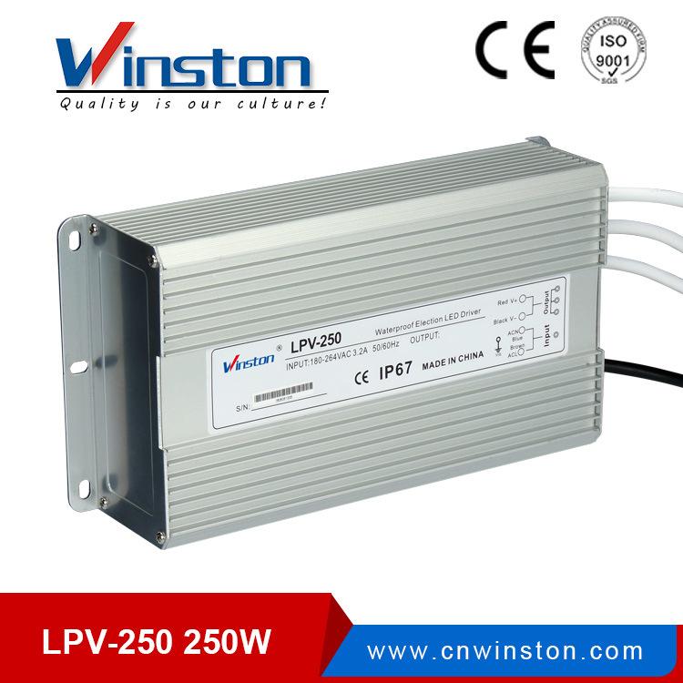 Lpv-250 250W Waterproof Single Output Switching Power Supply