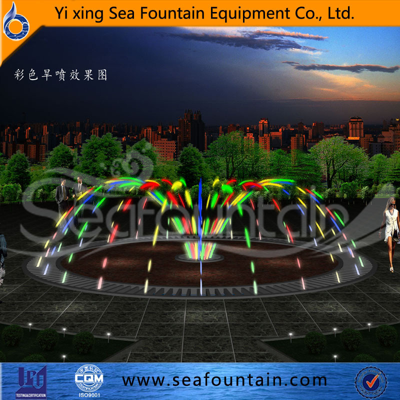 Seafountain Design Outdoor in Ground Ss304 Material Fountain