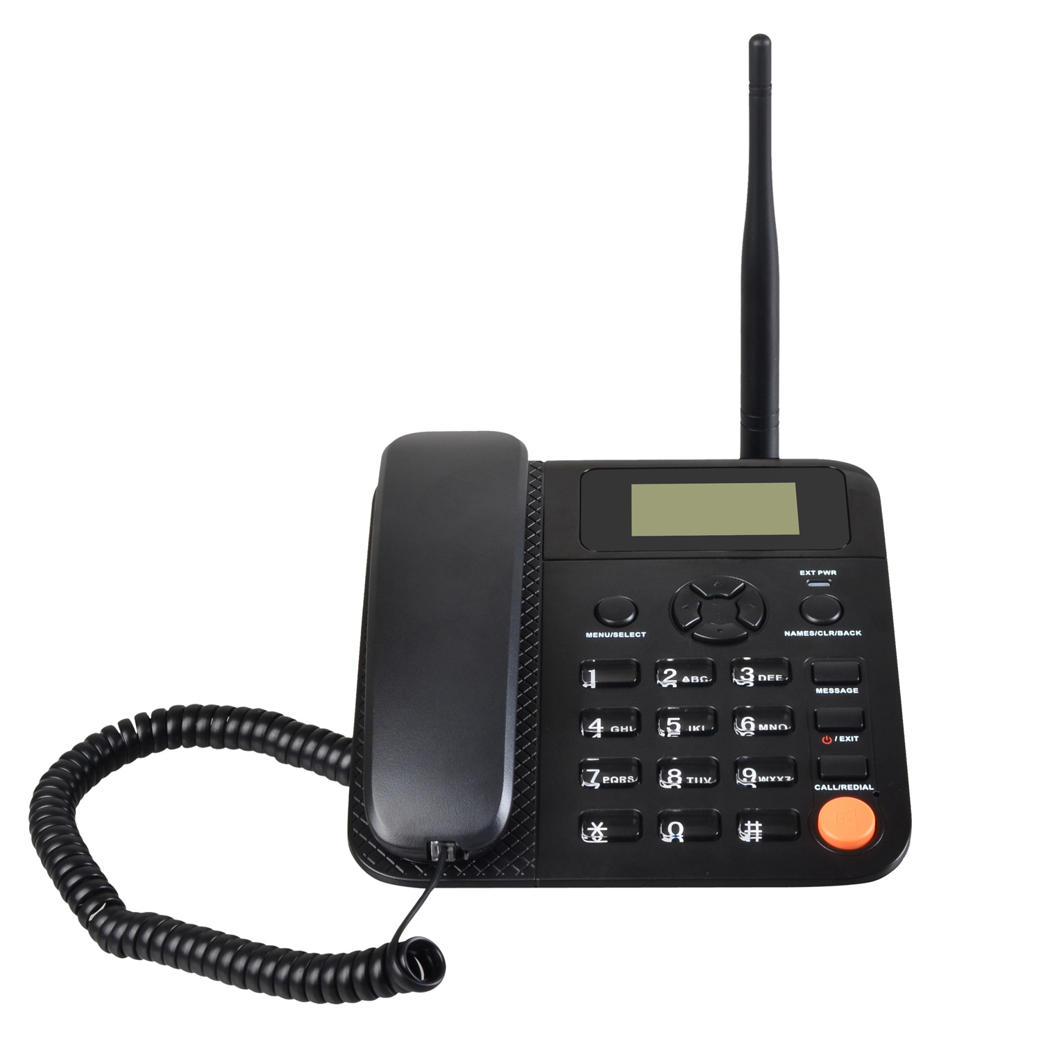 Back up Battery Desktop Phone 2g Wireless Phone Dual SIM GSM Fwp G659 Supports FM Radio