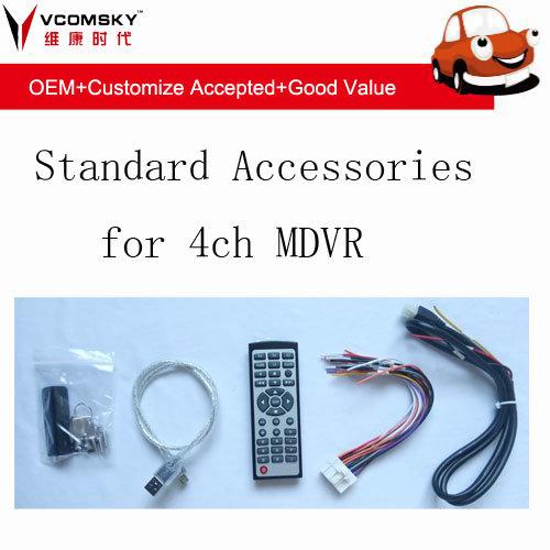 720p 4CH 3G 4G GPS WiFi Car DVR