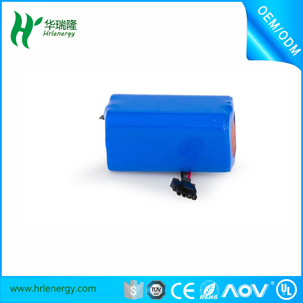 High-Energy Density, Longer Storage Life 4s 14.8V 18650 Li-ion Battery Pack 2600mAh