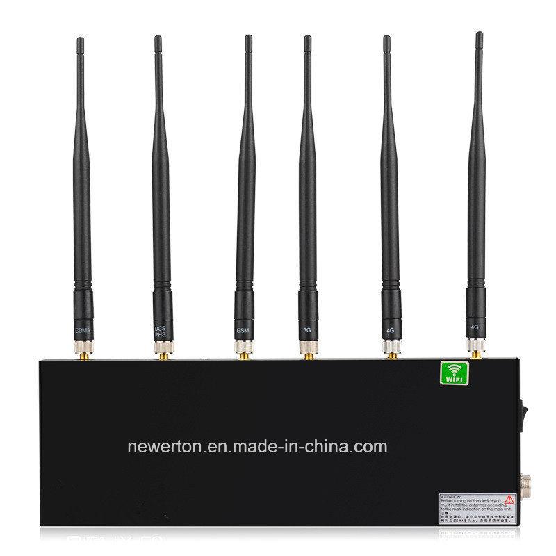New Arrival! Portable 6-Band Desktop WiFi Jammer/GSM, CDMA 3G 4G Mobile Phone Signal Isolator Jammer