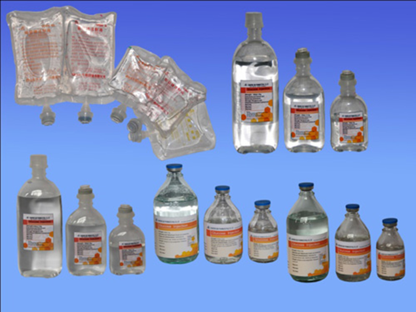 Common IV Solutions Glucose Injection GMP Factory