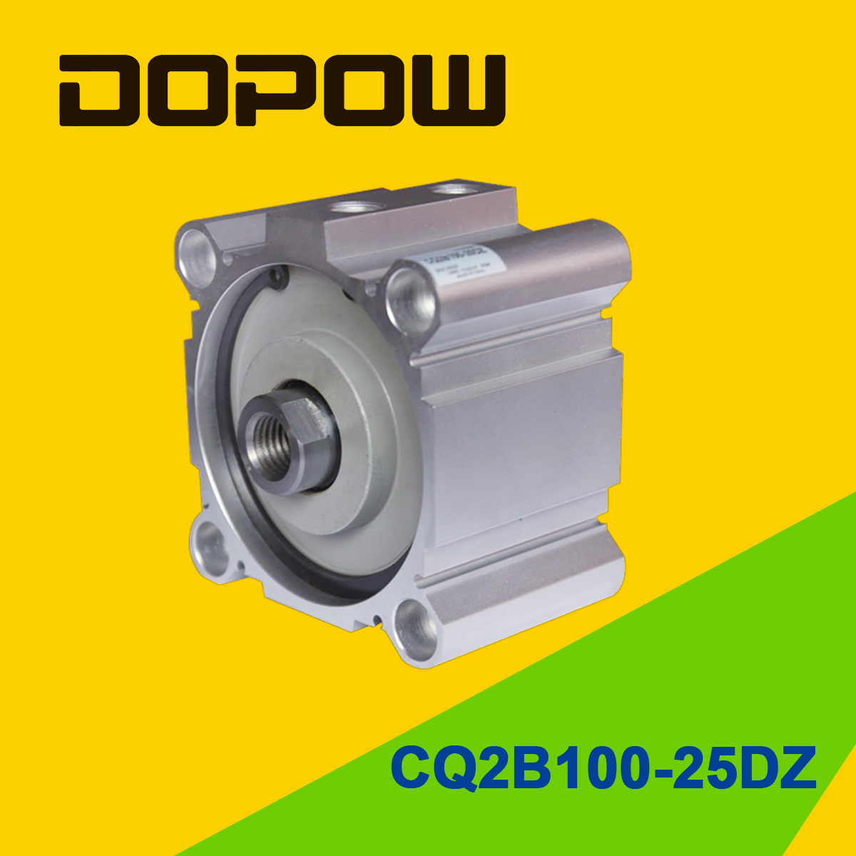 Dopow Series Cq2b100-25 Compact Cylinder Double Acting Basic Type