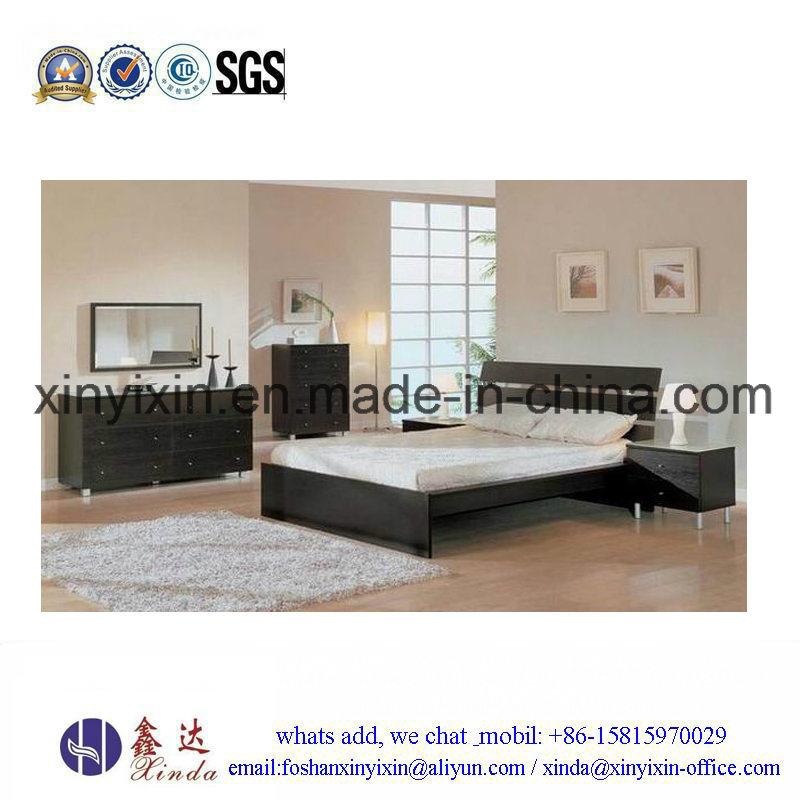 Wooden Bedroom Furniture Simple Single Bed (SH043#)