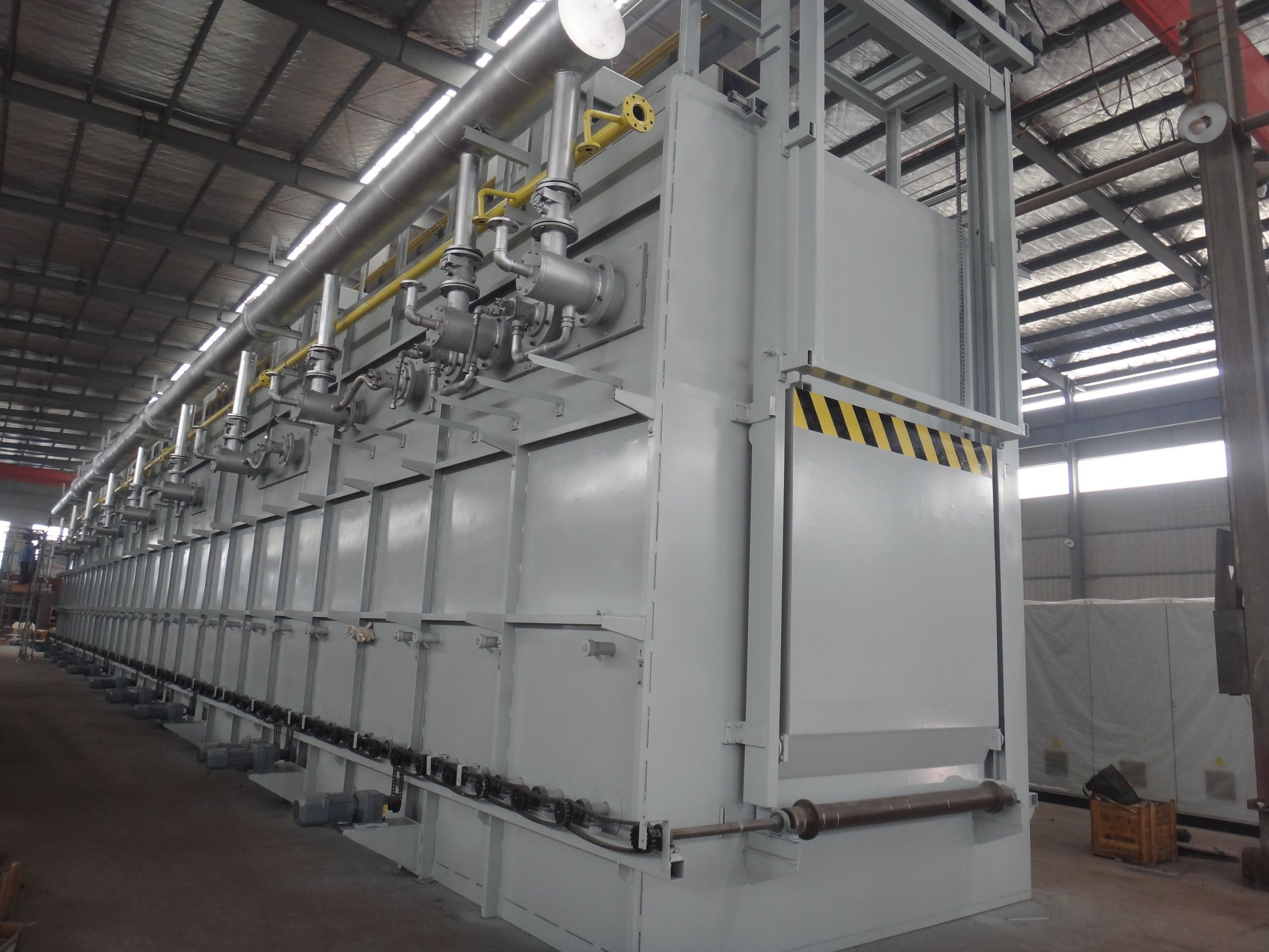 Solution and Ageing Heat Treatment Line